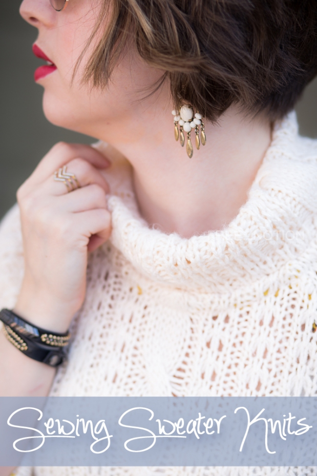 Tips For Knitting Your First Sweater : Sewing sweater knit tips for your coziest seasonal