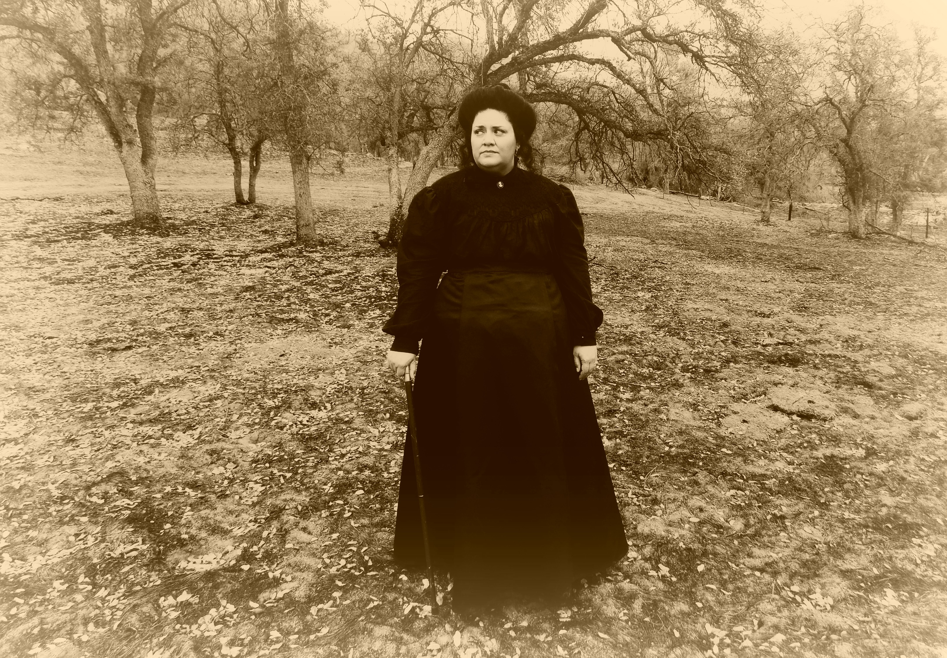 A Victorian Mourning Blouse