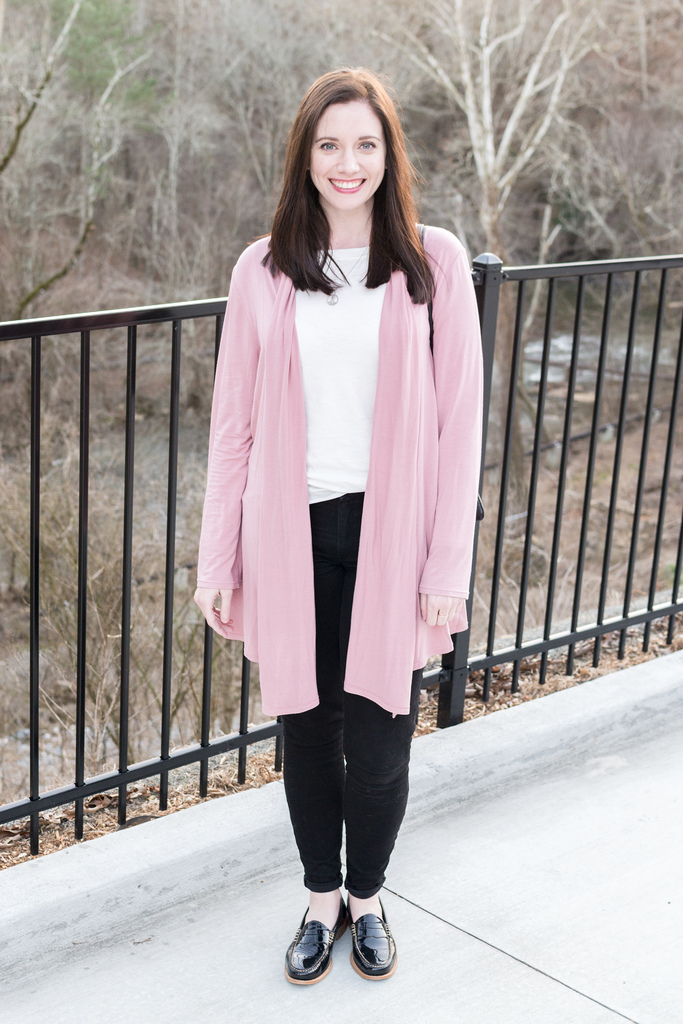 Adding a Dusting of Pink to a Neutral Wardrobe