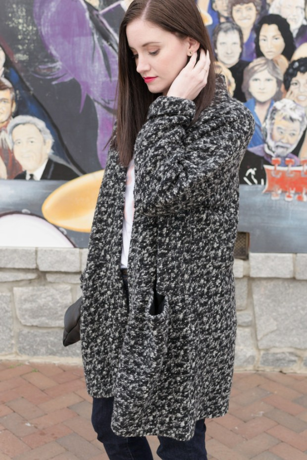Jenny Maker Named Esme Mottled Coatigan 17
